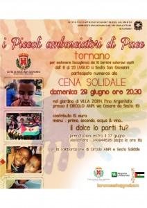 Accoglienza Saharawi_cena solidale